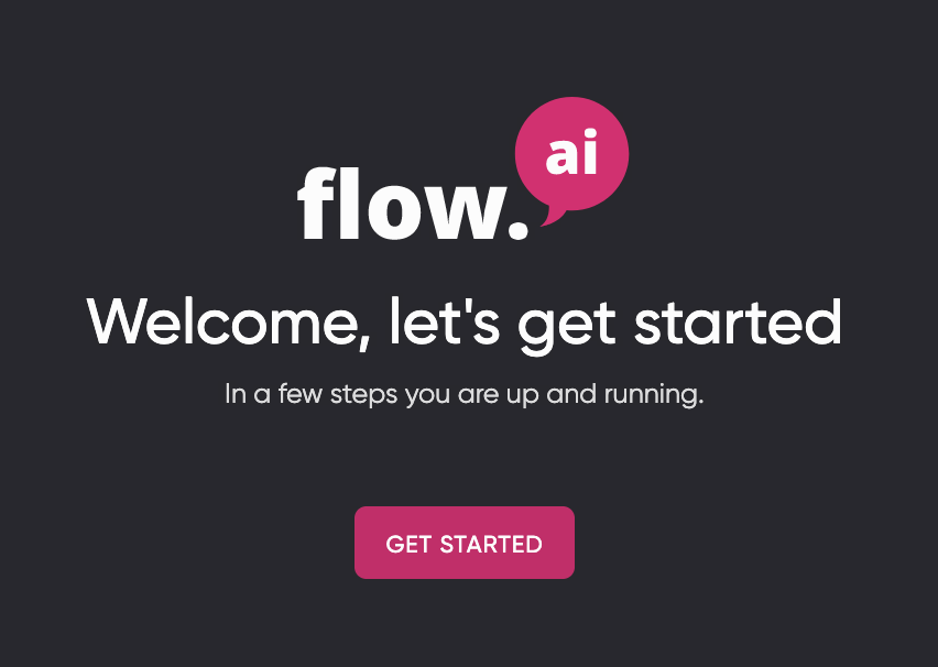 Get started with Flow.ai