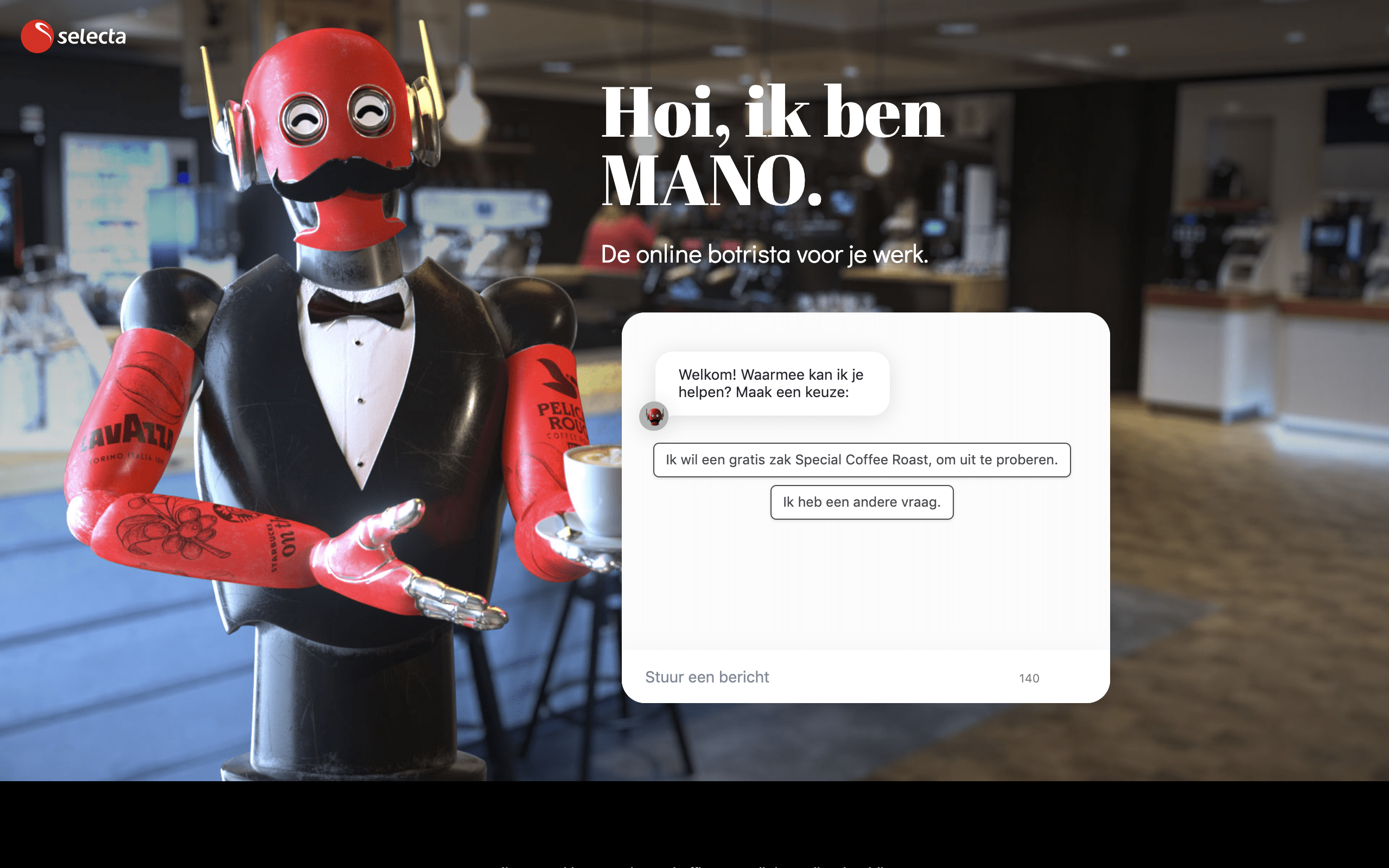 Chatbot Embed on website for engagement