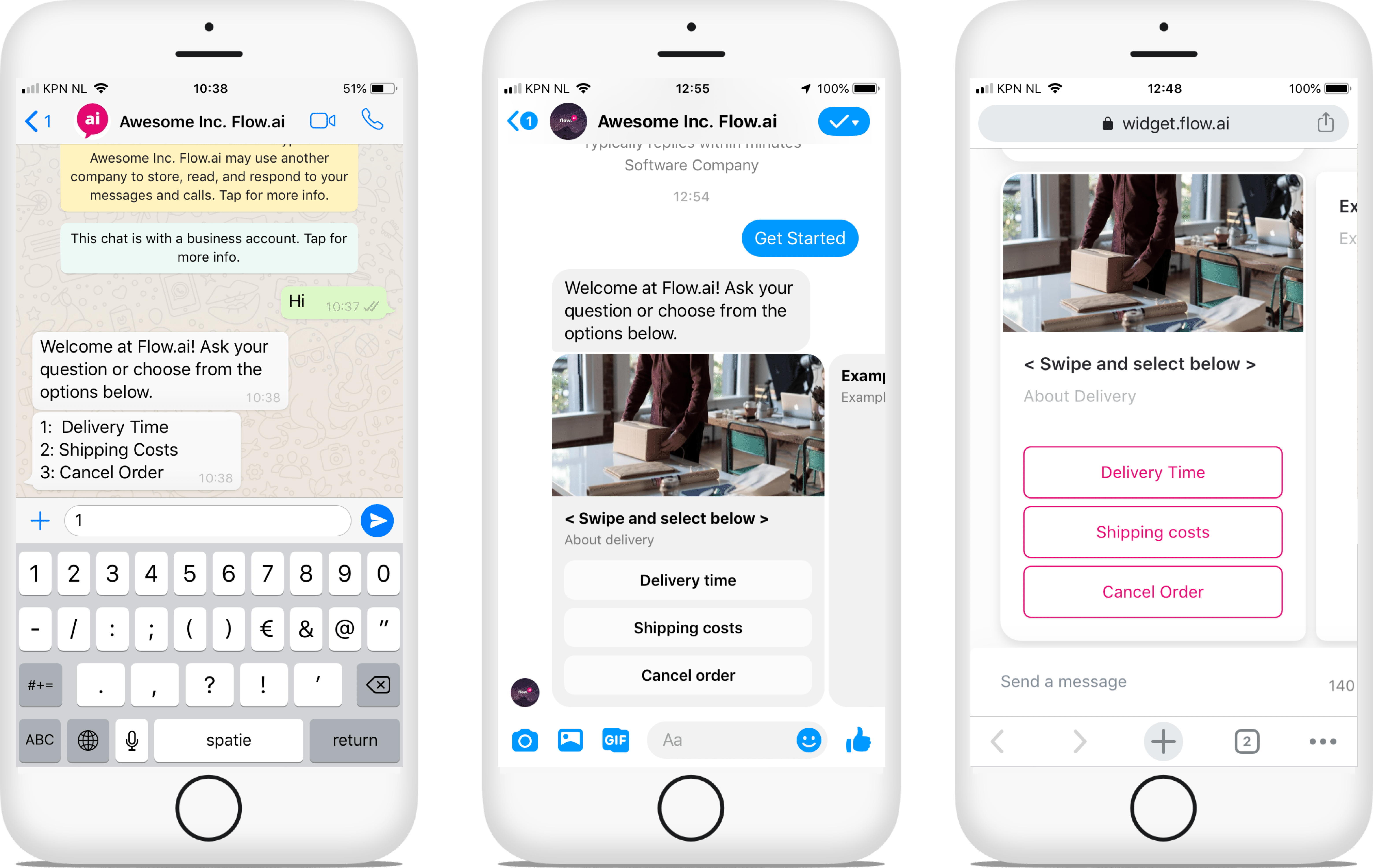 Omnichannel chatbots