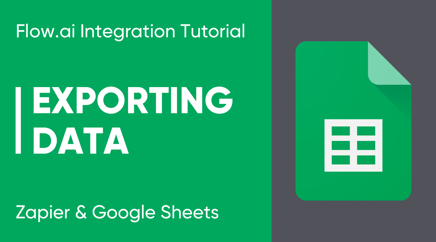 Google Sheets Export Tutorial