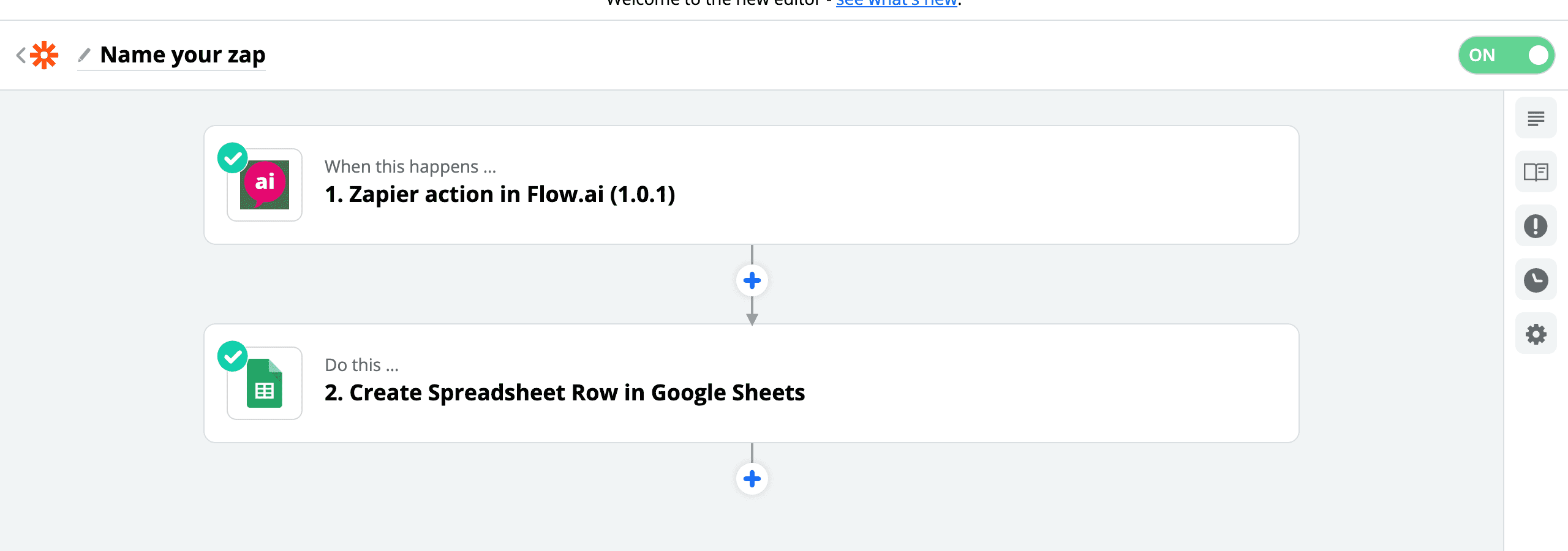 Add rows to Google Sheets